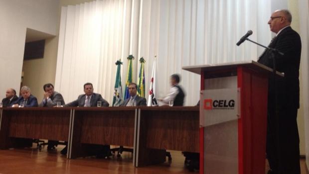 Novo presidente da Celg D, Sinval Zaidan Gama | Foto: Reprodução/ Facebook Siga Marconi