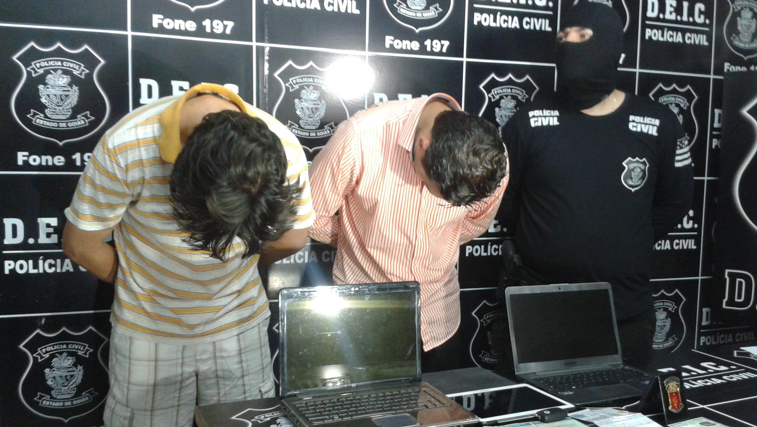 Advogados são presos em Goiânia por estelionato