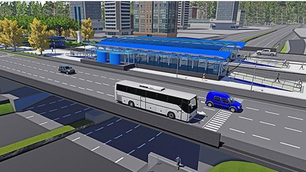 BRT de Palmas começa a sair do papel