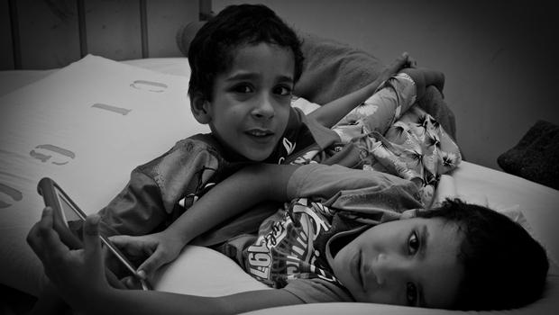 Nascidos em 2009, Arthur e Heitor passam por cirurgia de separação na próxima semana | Foto: Shysuo Araki