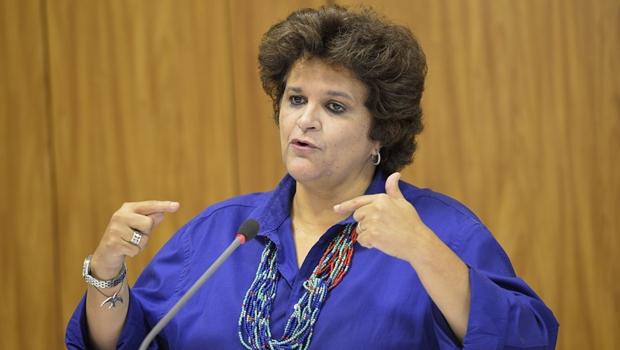 Ministra do Meio Ambiente vem a Goiânia lançar o Plano Estadual de Recursos Hídricos | Foto: Wilson Dias/ Agência Brasil
