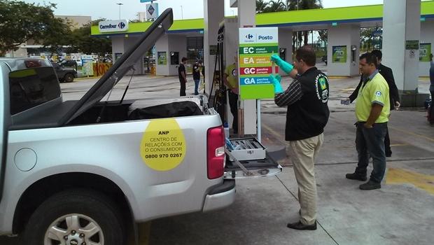 ANP realiza fiscalização em Goiânia |Foto: divulgação