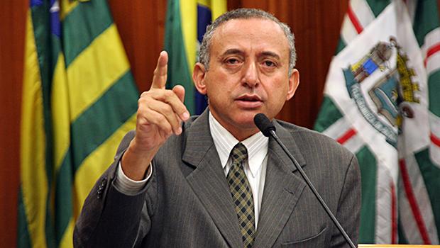 Vereador Anselmo Pereira, presidente da Câmara de Goiânia: oposição equilibrada ao prefeito Paulo Garcia | Foto: Alberto Maio