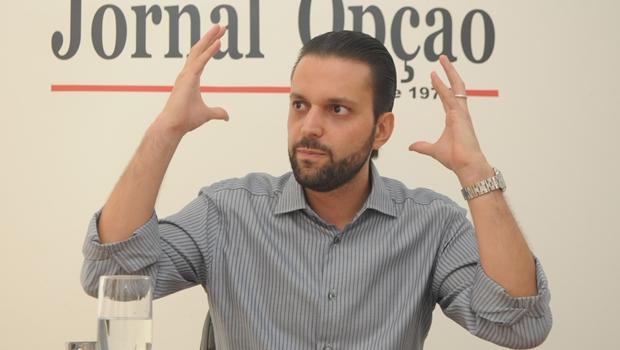 """Alexandre Baldy não acredita em impeachment: """"É mais fácil Dilma renunciar"""""""