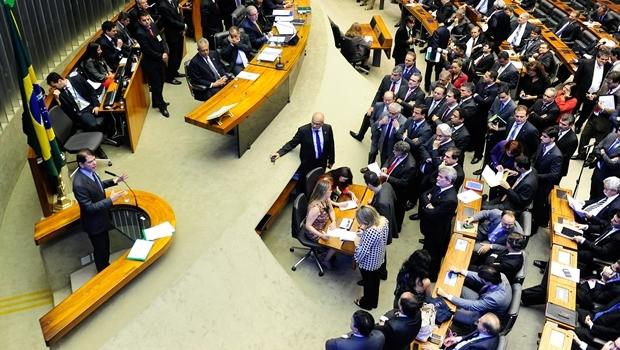 Sessão com Cid Gomes acaba em tumulto   Foto: Gustavo Lima/ Câmara dos Deputados