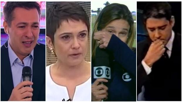 Momentos emocionantes. Inclusive para os jornalistas | Fotos: reprodução / Youtube