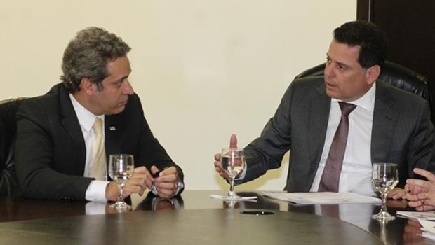 Marconi Perillo diz que Henrique Tibúrcio é um político competente, leal e ético