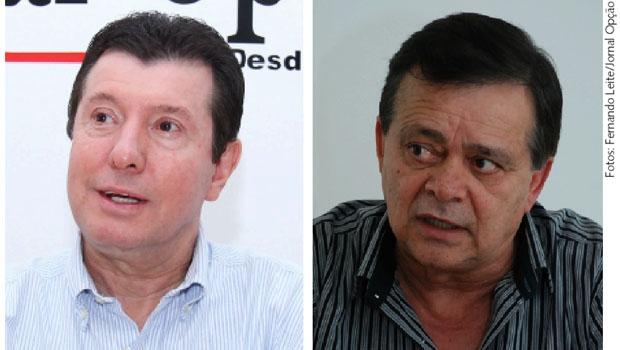 José Nelto e Jovair Arantes: PMDB e PTB podem caminhar juntos na disputa eleitoral de 2016 em Goiânia. É o início de uma nova aliança