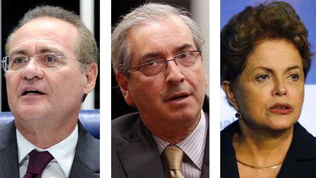 Dilma Rousseff precisa salvar Renan Calheiros e Eduardo Cunha para ser salva pelos peemedebistas