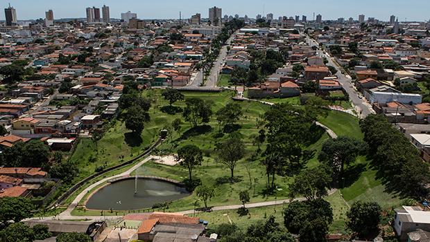 Os parques e praças têm sido o símbolo da política ambiental de Anápolis   Foto: Prefeitura de Anápolis
