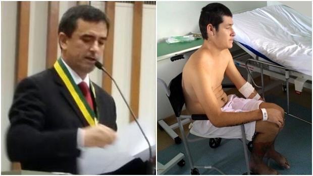 Preso estaria paraplégico após agressão de agentes penitenciários, denuncia promotor