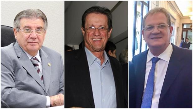 Disputa pela presidência do PSDB goiano está entre Cyro Miranda, Olier Alves e Sérgio Cardoso
