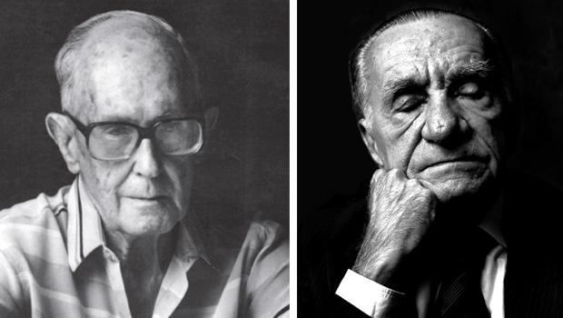Carlos Drummond de Andrade e João Cabral de Melo Neto: Editora Schwarcz e Penguin controlam a obras dos dois maiores poetas brasileiros