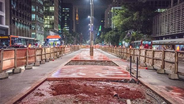 Canteiro central da Avenida Paulista vai se tornar ciclovia: ação do prefeito Haddad polemiza e gera contra-ataque