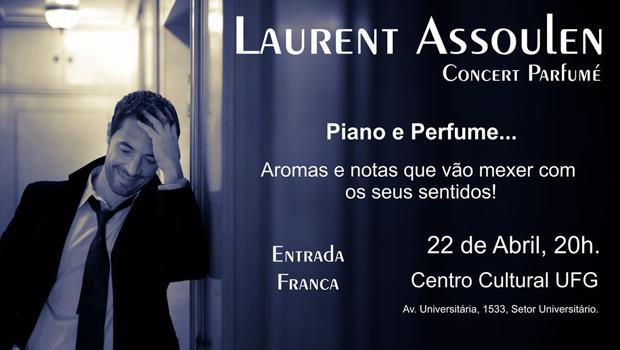Aliança Francesa traz pianista Laurent Assoulen para os palcos do Centro Cultural da UFG