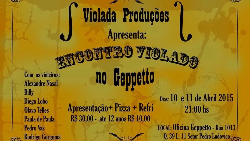 Pizzaria e espaço cultural de Goiânia recebe encontro de violeiros