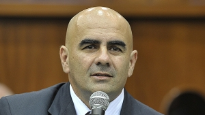 Paulo Ceza, do PMDB, não ficou ferido | Foto: Assembleia Legislativa