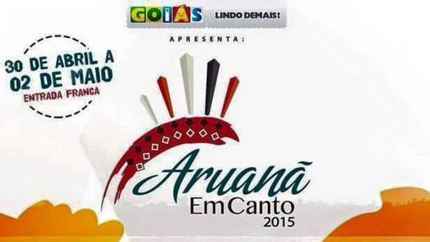 Marconi quer consolidar Aruanã EmCanto como um dos principais eventos culturais do Estado