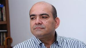 Presidente do PT goiano, Ceser Donisete | Foto: Fernando Leite/Jornal Opção