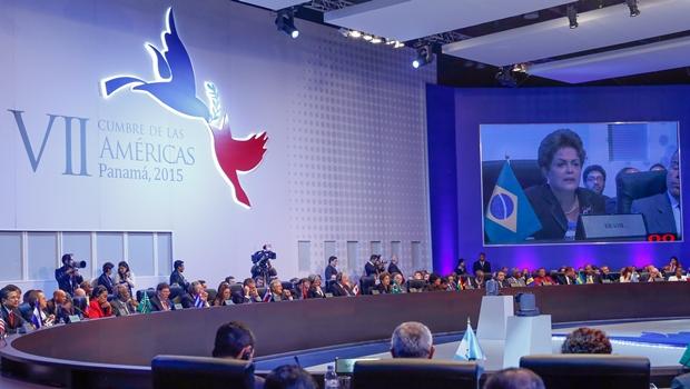 Presidente Dilma discursa na Cúpula das Américas | Foto: Roberto Stuckert Filho/PR