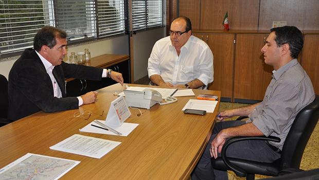 Plano buscado pelo prefeito João Gomes junto ao secretário Dario Lopes visa melhorar a mobilidade na cidade   Foto: Prefeitura de Anápolis