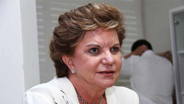 Lúcia Vânia: a senadora pode ser o trunfo da base governista na disputa para a Prefeitura de Goiânia. E Vanderlan pode bancá-la   Fernando Leite/Jornal Opção