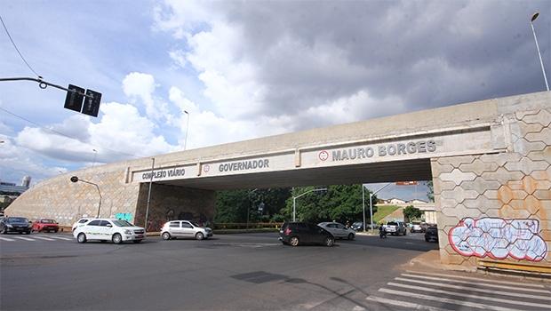 Viadutos da Marginal Botafogo foram os últimos investimentos claros feitos pela Prefeitura de Goiânia. É preciso voltar a investir | Foto: Fernando Leite/Jornal Opção