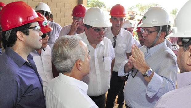 Visita de Marcelo Miranda a Porto Nacional, onde anunciou investimentos   Foto: Elizeu Oliveira