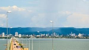Ponte de Porto Nacional: cidade se tornou um ponto logístico viável para a implantação de investimentos como o Shopping das Indústrias   Foto: Clovis Cruvinel