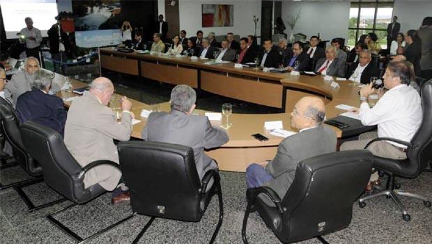 Durante reunião com secretariado, governador Marcelo Miranda apresenta seu modelo administrativo definitivo