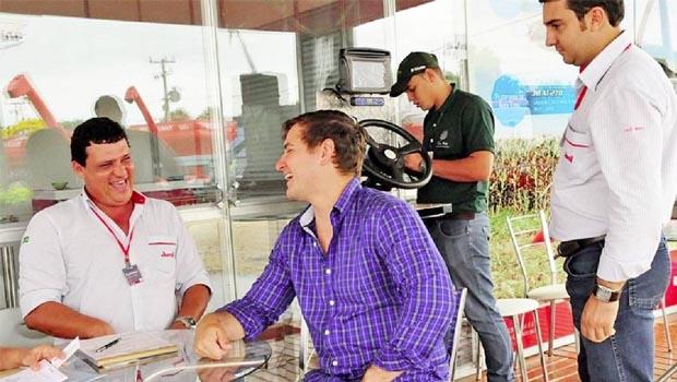 Expositores da Agrotins otimistas pelo resultado que, mais uma vez, deve ultrapassar a casa de meio bilhão de reais   Foto: Divulgação/Seagro