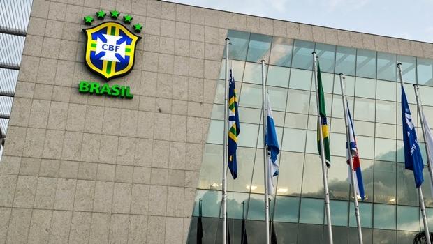 Sede da CBF, na Barra da Tijuca, sem o nome do ex-presidente José Maria Marin, preso em investigação internacional que apura casos de corrupção e fraudes na Fifa | Foto: Fernando Frazão/Agência Brasil