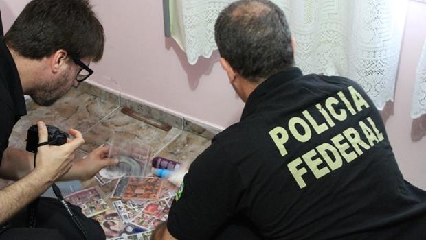 PF faz operação contra pornografia infantil e pedofilia em Goiás e outros 6 estados