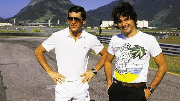 Galvão Bueno explica como começou a história de que Ayrton Senna era gay