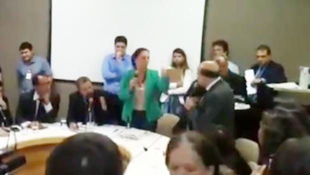 Dra. Cristina e Djalma Araújo trocam acusações na CCJ
