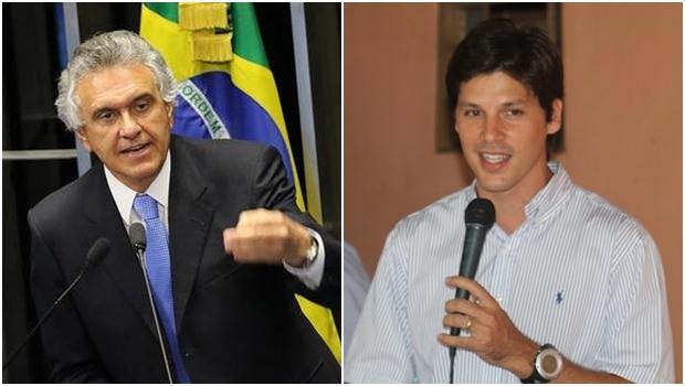 Ronaldo Caiado e Daniel Vilela: um deles vai ser a aposta do PMDB em 2018 | Fotos: Agência Senado / reprodução / Facebook