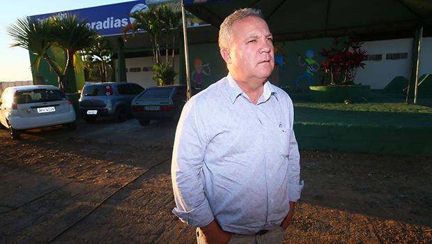 Prefeito Misael Oliveira (PDT): planejamento tem sido o receituário para sua gestão em Senador Canedo  | Foto: Fernando leite/Jornal Opção
