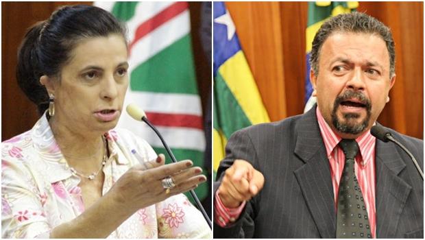 Vereadores Dra. Cristina (PSDB) e Elias Vaz (PSB): emendas vão ser mantidas   Fotos: Câmara Municipal