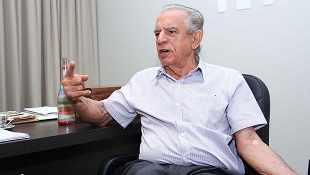 Iris Rezende: referencial na disputa, mas vai ter problema por ter sido cabo eleitoral de Paulo Garcia | Fotos: Fernando Leite/Jornal Opção