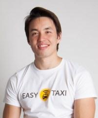 Léo Tang, do Easy Taxi: estimativa é de que 60% dos taxistas de Goiânia usem o app  Foto: divulgação