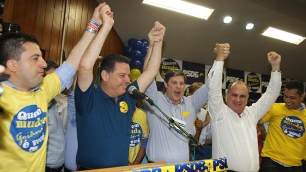 Rafael Lousa é aclamado presidente do PSDB Metropolitano de Goiânia