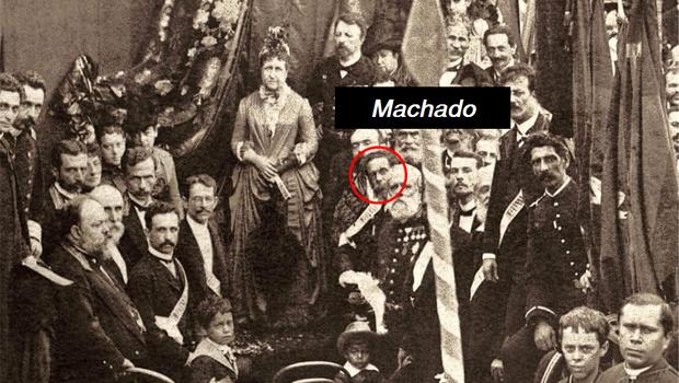 Machado de Assis aparece em foto, ao lado de princesa Isabel, numa missa que homenageou o fim da escravidão