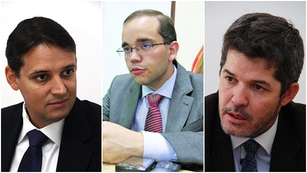 Thiago Peixoto (esquerda): bom formulador Fábio Sousa (meio): em ascensão Delegado Waldir: com potencial
