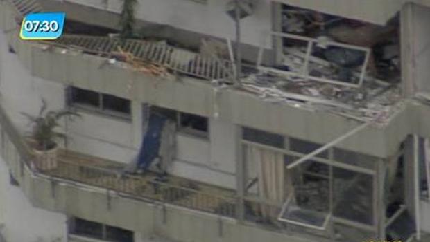 Explosão em prédio de São Conrado deixa ao menos uma pessoa ferida