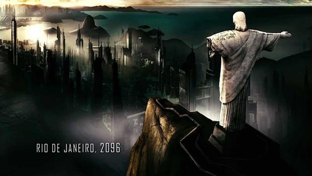 """Cena de """"Uma história de amor e fúria"""", que retrata o Rio de Janeiro no ano 2096"""