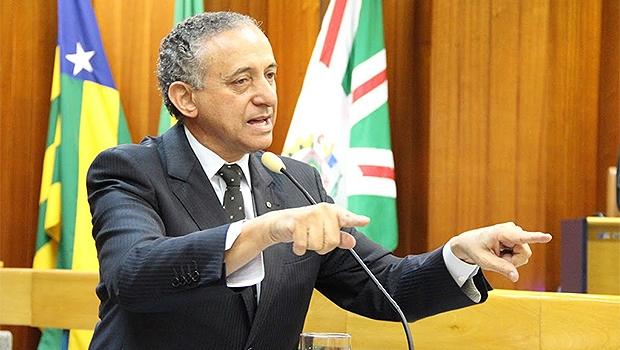 Anselmo Pereira, presidente da Câmara de Goiânia | Foto: Alberto Maia/Câmara de Goiânia