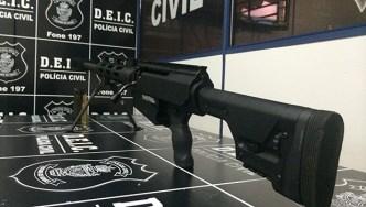 Rifle .50: armamento alugado por quadrilhas especializadas em roubo a bancos