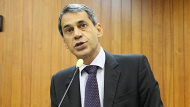 Líder do prefeito, Carlos Soares | Foto: Marcelo do Vale/Câmara de Goiânia