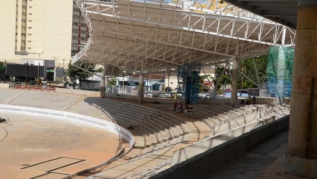 Obras estão adiantadas, conforme governador   Foto: Divulgação/Agetop