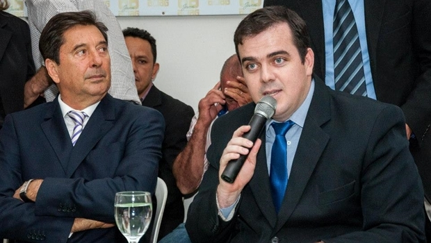 Prefeito Maguito Vilela e vereador Gustavo Mendanha | Foto: reprodução / Facebook